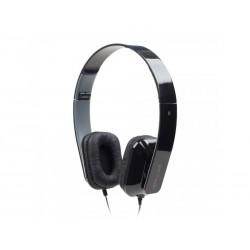 Casque Audio Confort filaire Jack3.5 mm sans micro Noir