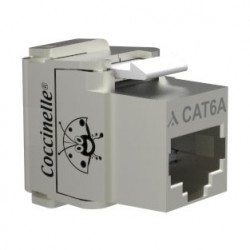 Jack coccinelle RJ45 Cat6a FTP 10Giga AWG22-23
