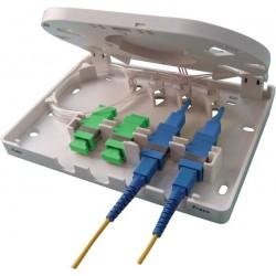 Boitier FTTX 4 ports pour...