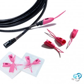 PatchSee - PlugCAP - Protection de connecteur RJ45 - Rose