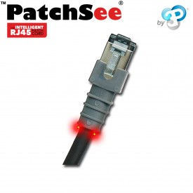 PatchSee 6-F/5 - Cordon RJ45 Cat6 FTP - Noir - 1.50m