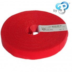 ECO-SCRATCH - Bobine Velcro 10m - Rouge