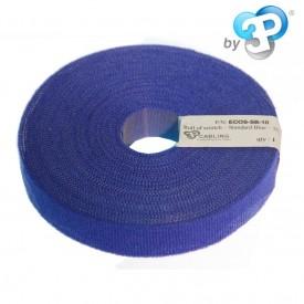 ECO-SCRATCH - Bobine Velcro 10m - Bleu