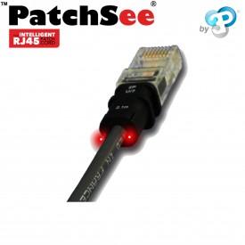 PatchSee - 2P-U/7 PhonePatch RJ45 2 paires UTP - 2.10m Noir