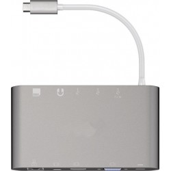 Adaptateur USB-C vers RJ45/Mini Display/ HDMI, VGA, 3xUSB3.0, SD