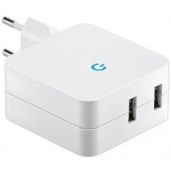 Chargeur 2 prises USB2.0...
