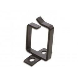 Anneau passe câble noir pour rack - Dim. 44 x 64 - Noir RAL9005