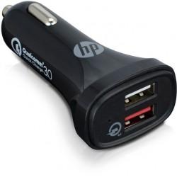 HP - Adaptateur DC (voiture) 12/24 V 5,4 A - 2x USB3.0
