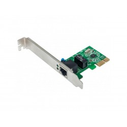 Carte PCI Express RJ45 Gigabits - Low Profile Chipset Realtek