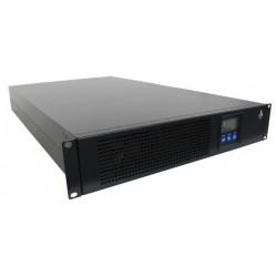 Onduleur Rack/Tour 2U 3KVA/2700W Online prof 654. 8batt. 12V/9AH LCD