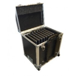 "Valise Multimédia 10 Tablettes hybrides 11,6"" Rang. Transp. Charge"