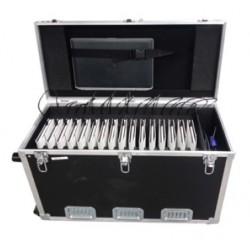 "Valise Multimédia 16 Tablettes Hybrides 11,6"" Rang. Transp. Charge"