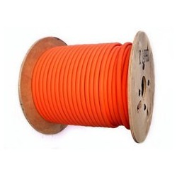 Cable Indus haute Temp. CR1C1 2x2.5m² Gaine Orange - Prix/m
