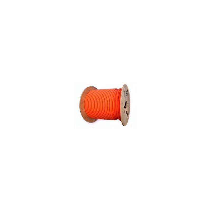 Cable Indus haute Temp. CR1C1 2x2.5m² Gaine Orange - Prix/m