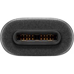 Cordon USB type C 3.1 SuperSpeed - Mâle / Mâle - Noir 1m
