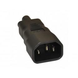 Adaptateur C14 vers C5 10A/250v - Noir