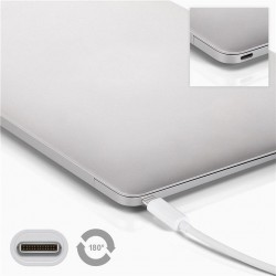 Adaptateur USB-C Mâle vers VGA Femelle - Blanc 15 cm