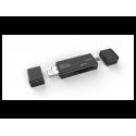 Lecteur de cartes USB2.0 type A & C, Micro SD, SD