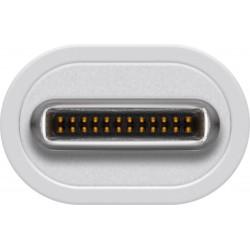 Adaptateur USB-C Mâle vers HDMI Femelle - 15 cm - Blanc