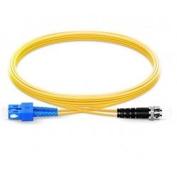Jarretière Duplex LSOH Monomode OS2 G652D ST/SC