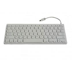 Mini Clavier pour tablette ou smarpthone AZERTY 78 touches Micro USB-