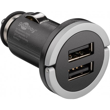 Chargeur 2 prises USB2.0 2.1A allume cigare