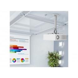 Support VP Plafond ext 38 à 58 cm rotation 360° Inclin 15° Gris