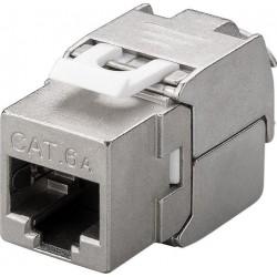 Embase RJ45 Cat6A STP Keystone CAD