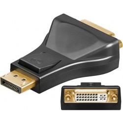 Adaptateur Display Port 1.1 Mâle vers DVI-I 24+5 Femelle - Monobloc