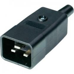 Connecteur electrique IEC C20 Mâle