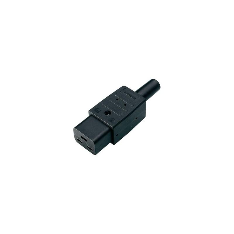 Connecteur electrique C19 Femelle