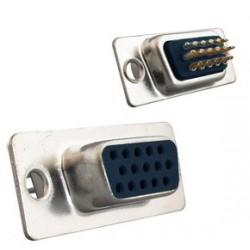 Connecteur SUB D HD 15F à souder