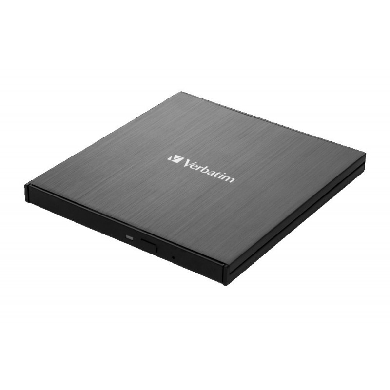 VERBATIM 43888 Graveur Blu-ray externe Slimline Noir, USB-C 3.1 gen1