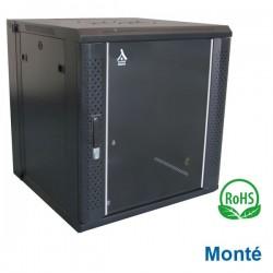 """Coffret 19"""" 6U Pivotant dim 600x450x368 - Monté - Charge 60Kg"""