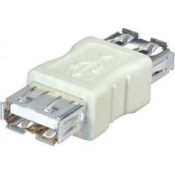 Adaptateur coupleur USB2.0 Type A Femelle vers A Femelle