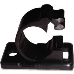 Serre câble adhesif Noir 14mm