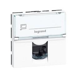 Prise RJ45 45x45 Cat6a STP Legrand Mosaic CAD