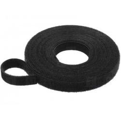 Bobine Velcro 16mm Noir - 20m