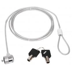 Câble antivol à clé sur...