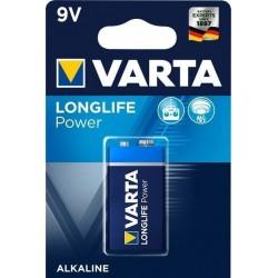 Blister 1 Pile LR61 9V Varta