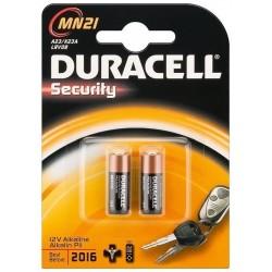 Blister 2 Piles LR23 12V Duracell