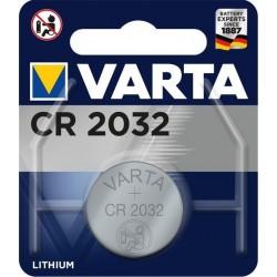 Blister 1 Pile CR2032  230mAh Varta