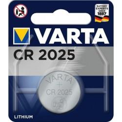 Blister 1 Pile CR2025  170mAh Varta