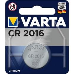 Blister 1 Pile CR2016 90mAh Varta