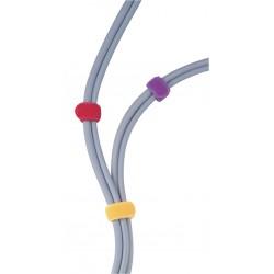 Kit Velcro 180 x 21 mm 10 pièces - 5 couleurs