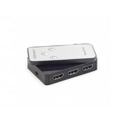 Switch HDMI 3 ports 1.4a - 4K 3D - avec télécommande